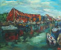 """Algirdas Taurinskas """"Danės krantinė"""", 2012 m."""