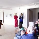 Katja Scholz performansas