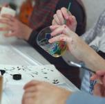 """Kūrybinis užsiėmimas """"Stiklo ir vaško namai"""""""