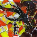 Stiklo ir vaško namai II: vitražas