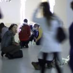 """Pažintinė ekskursija po Ginto Gabrano parodą """"Mutantų atranka""""/ sausio 22 d."""