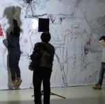 """Pažintinė ekskursija po Ginto Gabrano parodą """"Mutantų atranka"""""""