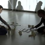 """Pažintinė ekskursija Ginto Gabrano parodoje """"Mutantų atranka"""""""