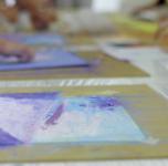 Kūrybinis užsiėmimas - tapyba pastele