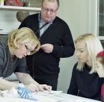 Kūrybinis šeimų savaitgalis dizaino tema su Lina ir Valdu Ramanauskais/ 2017 11 11