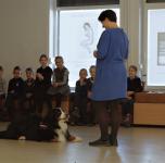 Edukacinė ekskursija su terapiniais šunimis/ 2017 11 16