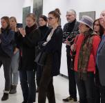 """Esksursija po Arūnės Tornau tapybos parodą """"Tirpstančios formos""""/ 2018 02 24"""