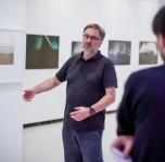 """Išankstinė šiuolaikinio meno parodos """"Cronometrai"""" peržiūra. Nuotr. Nerijaus Jankausko/ 2018 09 09"""