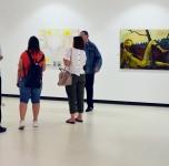 """Susitikiamas su Klaipėdos soc. paslaugų centro """"Danė"""" nariais parodoje """"Rekomendacija""""/ 2019 06 05"""